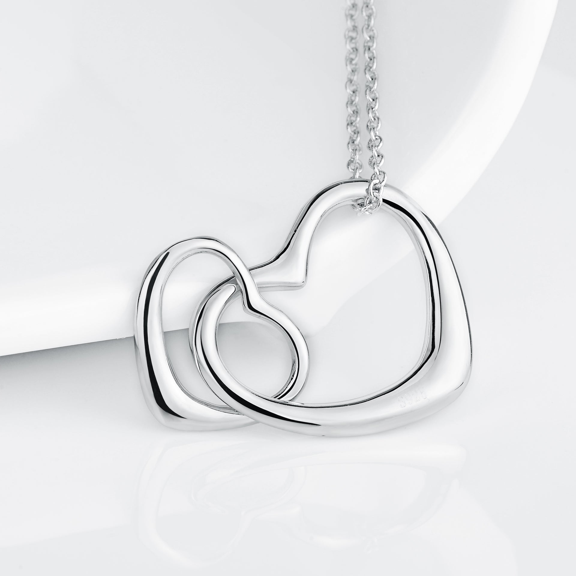 Heart Necklaces For Gifts New Simple Design Women Jewelry Chain Necklaces