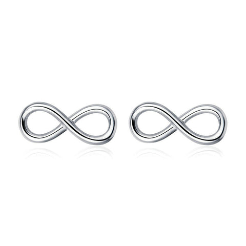 Infinity Love Infinite Stud Earrings