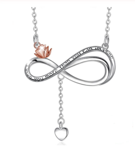 Infinite Love knot Necklace Pendant