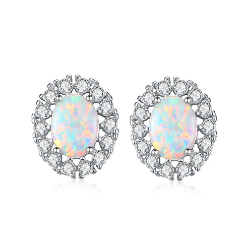 Fashion New Designs Earrings Best-Selling High Quality Opal Women Charming Earring
