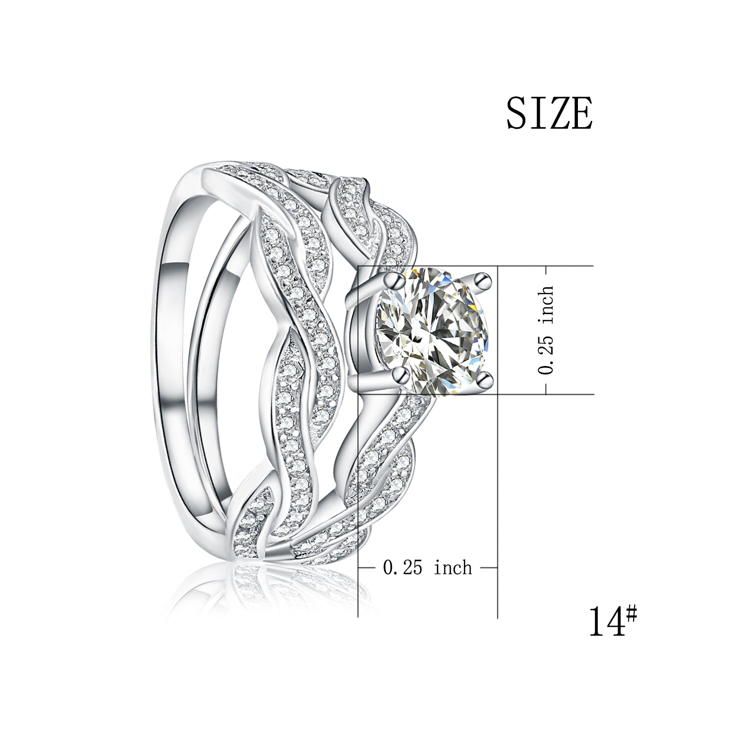 Sample Wholesale Custom 925 Sterling Silver Finger Ring with Big Stone