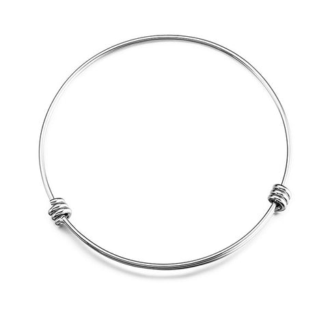 Adjustable Bangle Simple Style Minimalist Wholesale Bangle
