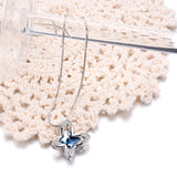 Full Zirconia Butterfly Animal Jewelry Necklace Festival Mother's Day Necklace