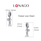 Bracelet Charms Accessory Silver Forever Love Puppy Lovely Bone Charms