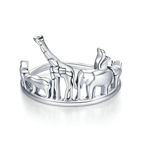 Protection Animal Finger Rings