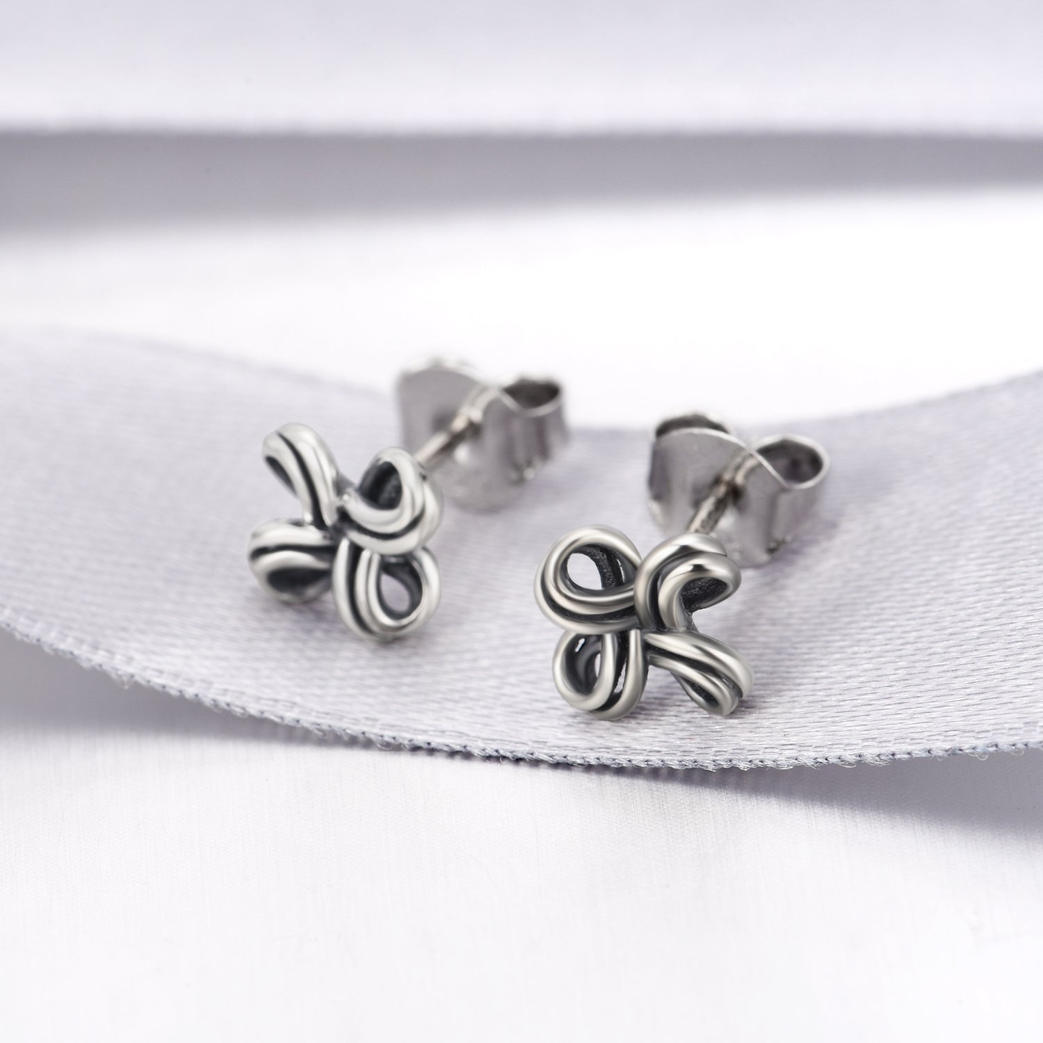 Stud Earrings Trendy Little Cute Hollow Design Earrings