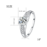 Jewelry Manufacturers Wholesale Sterling Silver Ring Custom Zirconia Ring