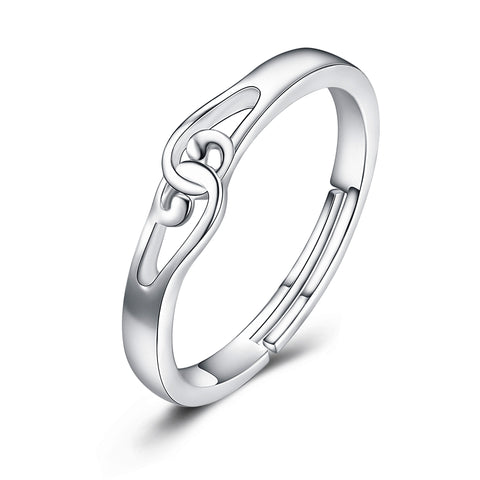 2019 New Arrival Opening Rings Silver Manufacturing Women Rings
