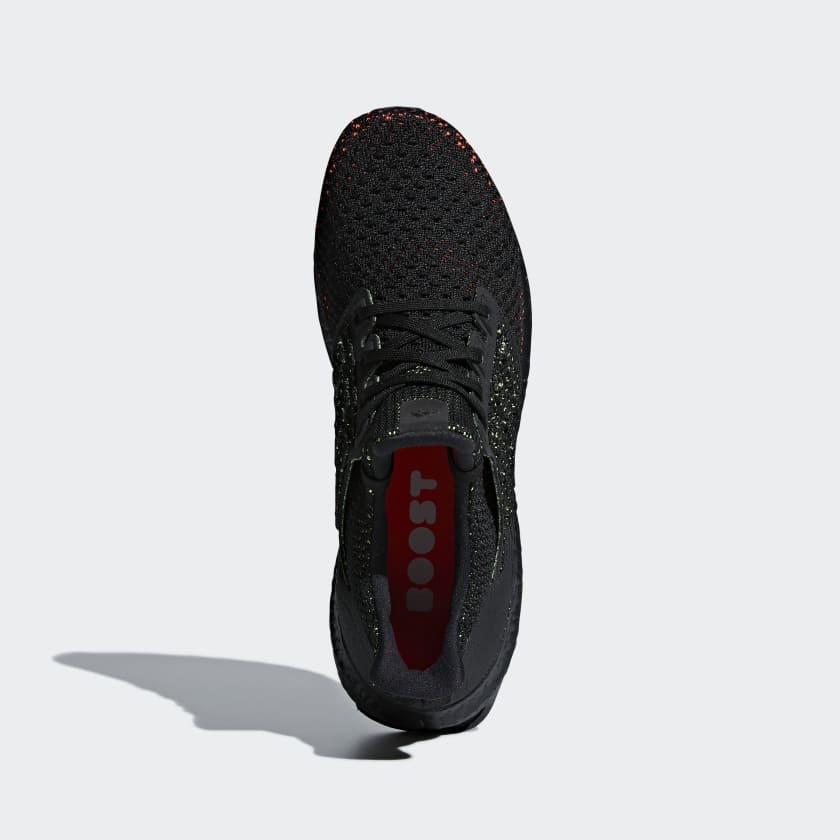 sports shoes ca96d bc6ad Adidas Ultraboost Clima Running Black Black Solar Red