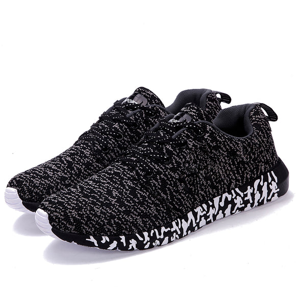 Men Casual Shoes Woven Trainers