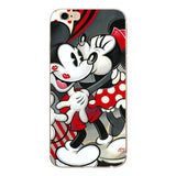 Fashion Cartoon Lovers Mickey Mouse Minnie cover soft TPU silicon case For iPhone SE 5/5s 6 6s 7 8 Plus Phone funda Coque cases