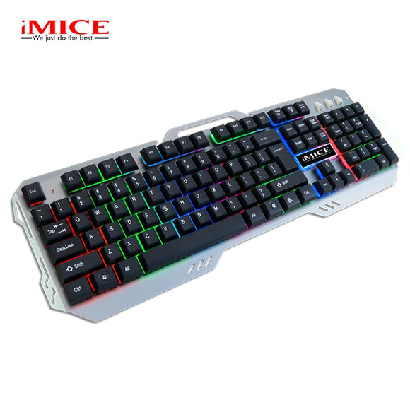 iMice Gaming Keyboard 104 Keys Back-lit  Mechanical Feeling Keyboard
