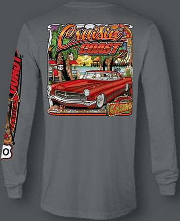 2018 Cruisin' The Coast Longsleeve Main Design