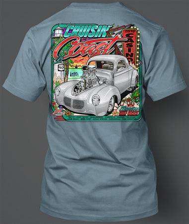 2019 Cruisin' The Coast Main Design
