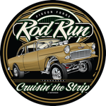 2019 Fall Pigeon Forge Rod Run Round Metal Sign