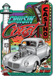 2019 Cruisin' the Coast Official Metal Sign (Made to Order)