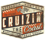 2020 Cruisin' The Coast Shield sign (Made to Order)