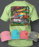 2020 Cruisin' The Coast Main Design T-Shirt/Hat Combo Set 1