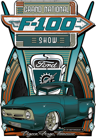 2020 F-100 Grand Nationals Dark Sign Design (Made to Order)