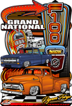 2020 F-100 Grand Nationals Main Sign Design (Made to Order)