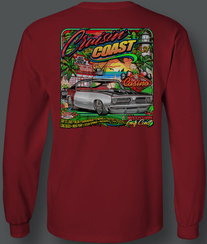 2020 Cruisin The Coast Long Sleeve Main Design