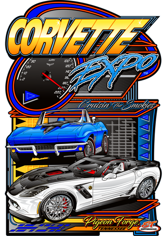 2021 Corvette Expo Main Design Sign