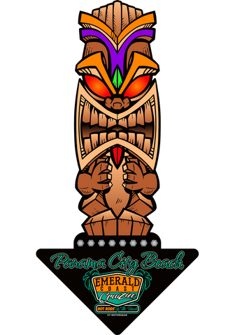 2021 ECC Totem Pole Metal Sign