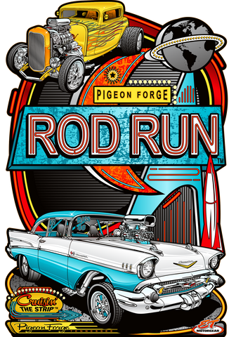 2021 Pigeon Forge Rod Run Main Design Sign
