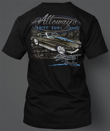 Alloways 1963 Blue on Black