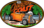 Cruisin' the Coast 20 Big Oval Sign (Made to Order)