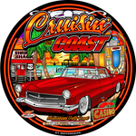 2018 Cruison' The Coast 12in Metal Garage Sign