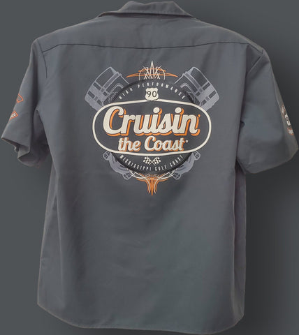 2020 Cruisin' The Coast Work Shirt