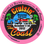 Cruisin' The Coast Pin