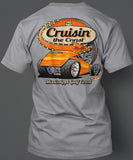 2019 Cruisin' The Coast Dark Design Shirt