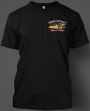 Cruisin' the Coast Speed Shop Short Sleeve T-Shirt