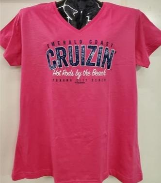 2019 Emerald Coast Cruizin' Ladies V Neck