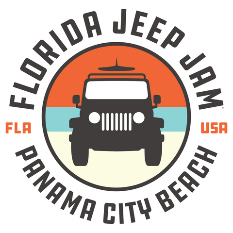 2020 Florida Jeep Jam Sticker