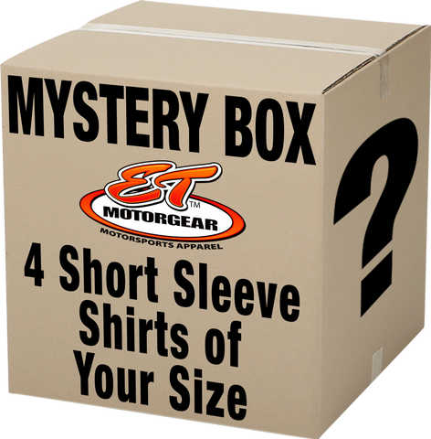 Mystery Box: 4 Short Sleeve Shirts of Your Size