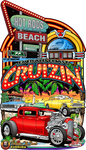 2019 Official Emerald Coast Cruizin' Metal Sign