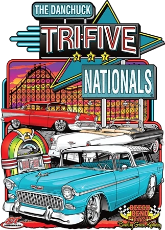 "Tri-Five Nationals 5th Annual ""Main Metal Sign"" (Made to Order)"