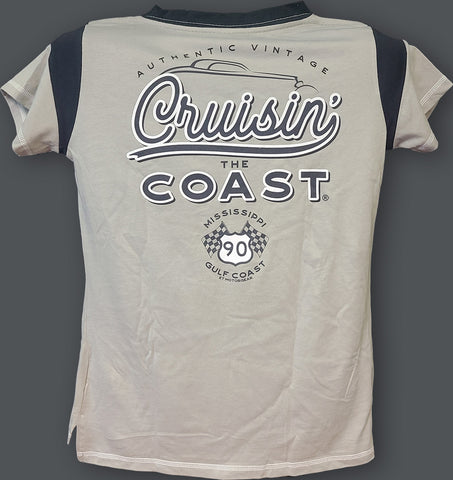 2020 Cruisin The Coast Ladies Gameday Lace-Up