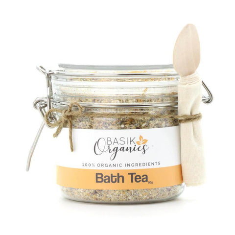 Green Christmas gift - Bath Tea