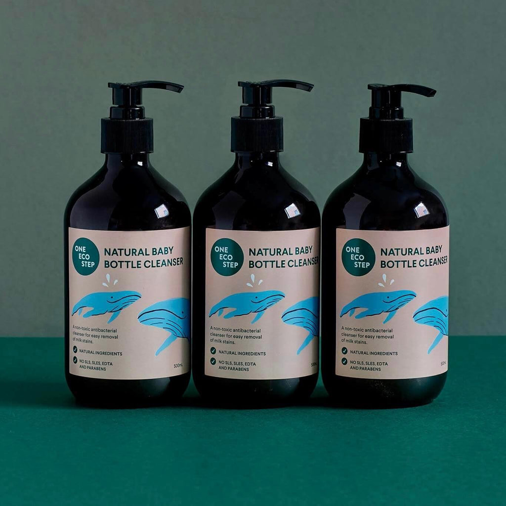 Natural Bottle Cleanser (3 Pack)