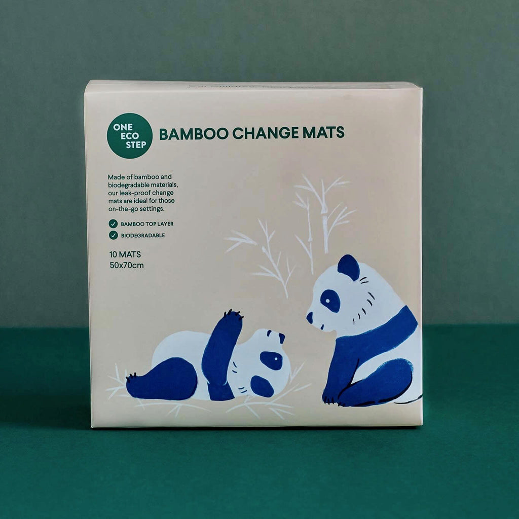 Bamboo Change Mats Front Pack