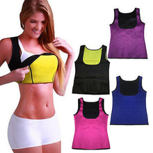 Load image into Gallery viewer, Neoprene Hot Shapers Vest Body Shaper Waist Trainers