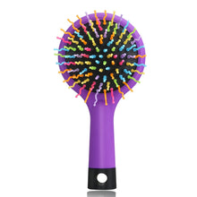 Load image into Gallery viewer, Rainbow Volume Anti-static Magic Hair Comb