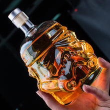 Load image into Gallery viewer, Storm Trooper Inspired Whiskey Decanter Glass
