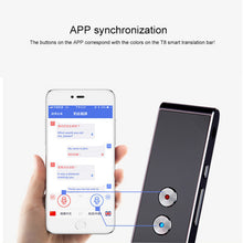 Load image into Gallery viewer, Portable Smart Voice Speech Translator Two-Way Real Time 30 Multi-Language Translation For Learning Travelling Business Meeting