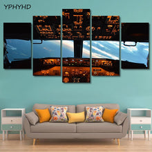 Load image into Gallery viewer, Aircraft Cockpit Canvas Painting