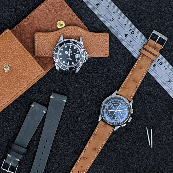 Pre owned Tudor watches, premium handmade leather watch straps, premium NATO straps